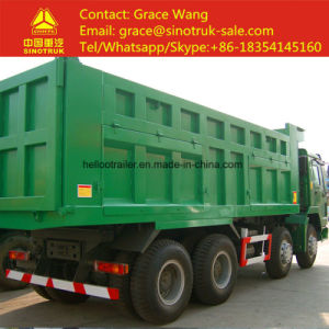 Cimc 3 Axle Low Bed Semi Trailer with Spring Ramp Hydraulic Ramp Ladder pictures & photos