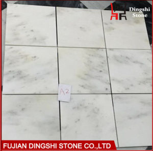 Chinese Athens White Marble Tile for Flooring Tile/Wall Tile pictures & photos