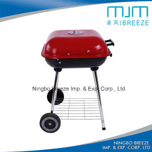 with 10 Years Supply Trolley Charcoal BBQ Grill pictures & photos