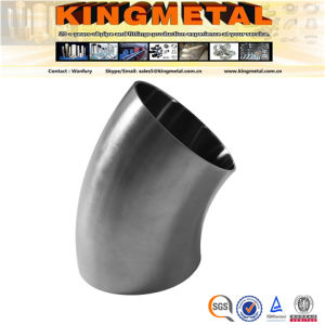Bright Annealed 304/316 Food Grade 45 Degree 3A Weld Elbow pictures & photos