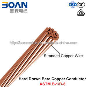Hdbc, Hard-Drawn Bare Copper Conductor (ASTM B1/B8) pictures & photos