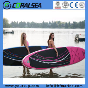 """Beautiful Design Inflatable Surf Top Quality Kayak Paddle (Wing 12′6"""") pictures & photos"""