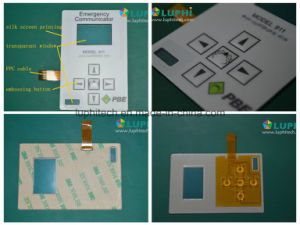 Flexible Printed Circuit Control Keypad Membrane Switch pictures & photos