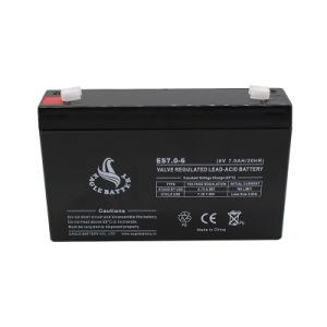 6V 7ah Mf Lead Acid AGM VRLA Rechargeable SLA Battery pictures & photos