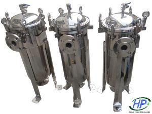 Ss Bag Filter Housing for RO Water Purifier Equipment pictures & photos
