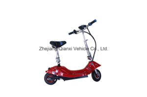 Small Red Two Wheel Foldable Electric Mobility Scooter (QX-1005) pictures & photos
