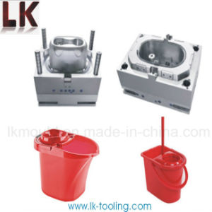 PP Material Plastic Injection Molding for Mop Bucket pictures & photos
