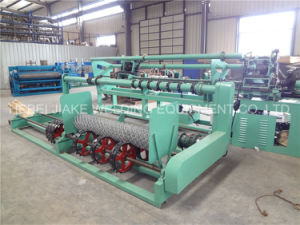 Automatic Chain Link Fence Machine Price pictures & photos