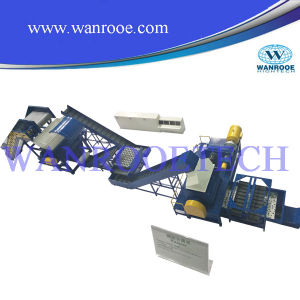 Low Noise Waste Tyre Shredder Machinery pictures & photos