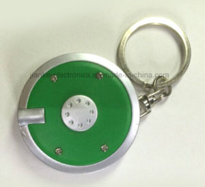 LED Flashing Mini Torch Keychain with Logo Printing (4085) pictures & photos