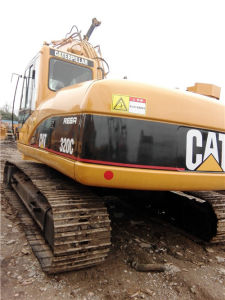 Used Crawler Excavator Cat 320c Hydraulic for Construction