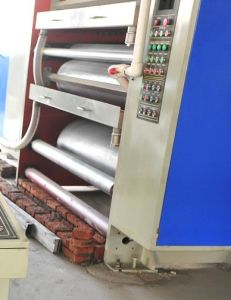 Corrugated Cardboard Gluing Machine pictures & photos