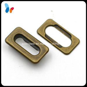 Anti-Brass Metal Brass Retangle Grommet for Bags pictures & photos