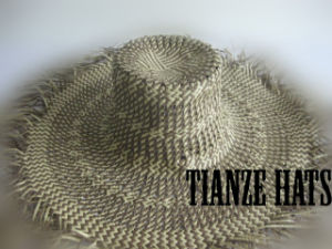 Basket Weave Paper Straw Hat Body pictures & photos
