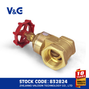 Female Thread and ISO228 Copper Brass Gate Valve (VG11.90011) pictures & photos