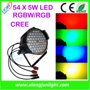 Indoor 54X3w RGBW LED PAR Can Light PAR Can pictures & photos