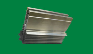 CNC Machining Parts Anodized Aluminium Profile for Heatsinks pictures & photos