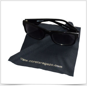 Custom Microfiber Sunglasses Cleaning Cloth pictures & photos