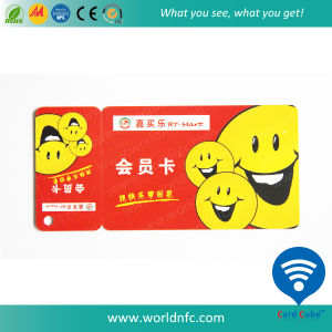 Factory Price PVC Combo Card/Die Cut Card/Special Gift Card pictures & photos