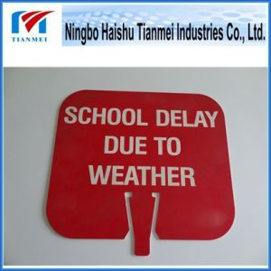 School Notice Sign, Customized Plastic Sign pictures & photos