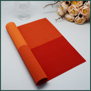 Eco-Friendly Plastic Vinyl PVC Heat Resistant Place Mat