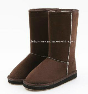 Latest Injection Boots Snow Boots Winter Boots Stock Shoes (FF328-1) pictures & photos