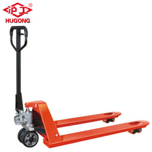 PU Wheel Hydraulic 3 Ton Hand Pallet Truck pictures & photos