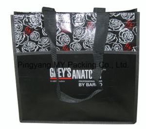 Gravure Printing PP Laminated Non-Woven Promotion Bags pictures & photos