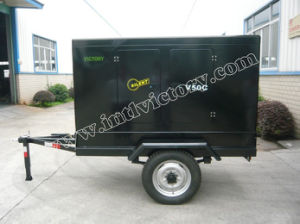 21kw/26kVA Silent Movable Diesel Generator with Cummins Engine pictures & photos