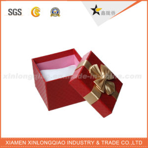 New Custom Elegant Mini Jewelry Gift Paper Box with Bow pictures & photos