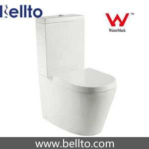 Bathroom Water Closet/Two Piece Toilet Bowl with Watermark (315) pictures & photos