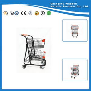 Cart for Supermarket/Basket Shopping Trolley for KTV