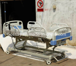 Three-Function Electric&Manaul Hospital Bed pictures & photos