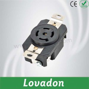 L21-20r American Four-Hole Anti-off Outlet pictures & photos