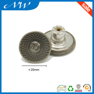 Customized Fashionable Metal Shank Button for Jeans pictures & photos