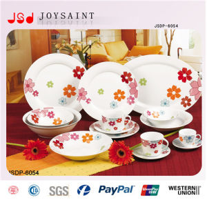 Porcelain Color Decal Dinnerware pictures & photos