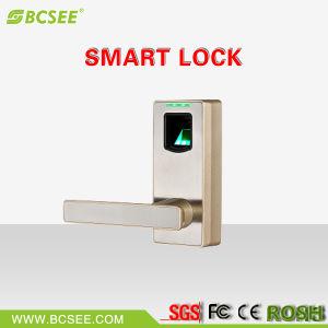 Bluetooth Connection Keyless Handle Fingerprint Door Lock