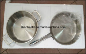 Network TV Sale Waterless Greaseless Stainless Steel Cookware Set pictures & photos
