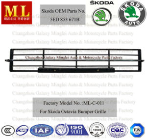 Auto Body Parts for Skoda Octavia Grille From 2012 (5ED 853 671B) pictures & photos