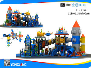 Kids Rocket Outdoor Plastic Playground Equipment (YL-X149) pictures & photos