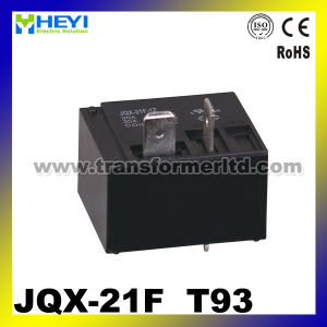 Jqx-21f (T93) PCB Relay 12V 30A 5pin Spdt Relay pictures & photos