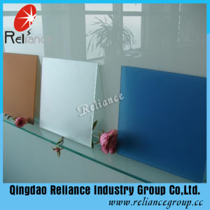 Tinted Acid Glass/Colored Frosted Glass/Foggy Glass for Building pictures & photos