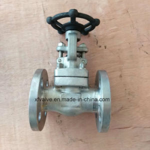 API602 150lb Forged Stainless Steel F316L Flange End Gate Valve pictures & photos