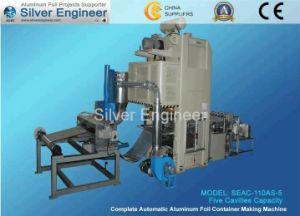 Aluminum Foil Tray Making Machine (SEAC-110AS) pictures & photos
