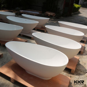 Kkr New Design Very Small Bathtub Solid Surface Bathtub pictures & photos