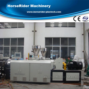 PVC Crust Foam Board Sheet Panel Co-Extrusion Production Machine pictures & photos