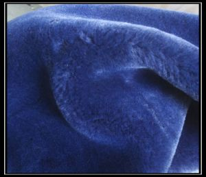 High Imitation Wool Artificial Plush Fabrics pictures & photos