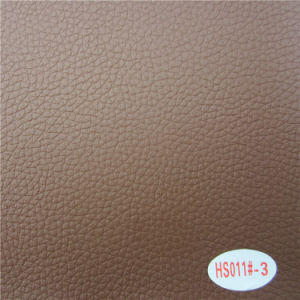 High Abrasion Resistant Waterpro of Salon Chair Cover Faux Leather pictures & photos