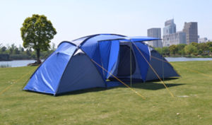 Double Layer Waterproof Family Camping Tent (EFT-012) pictures & photos