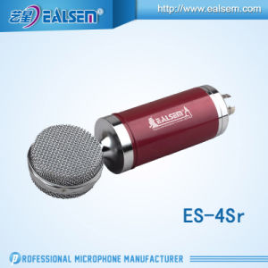 Ealsem Es-4sr-F Plug to Plug Computer Microphone Hot Sell High Quanlity Studio Microphone pictures & photos